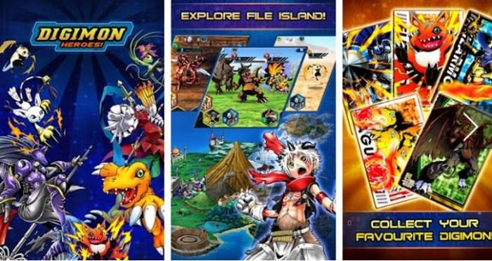 download Digimon Heroes free windows
