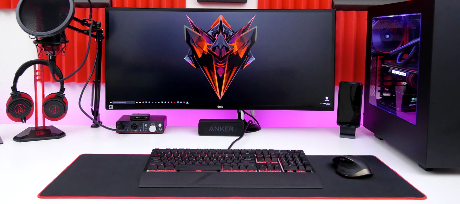 Pc Gaming Desk Best Gaming Desks 2018 Top 20 Rated Reviews