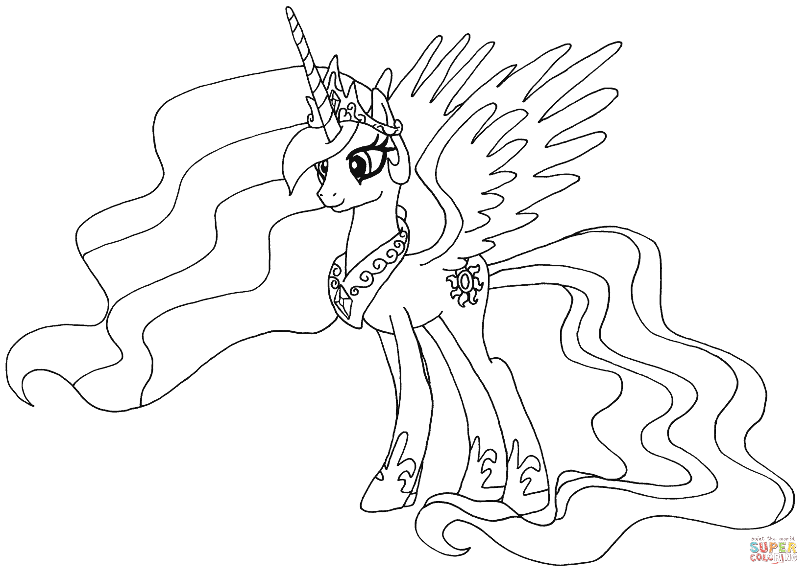 My Little Pony Coloring Pages Games Costumepartyrun