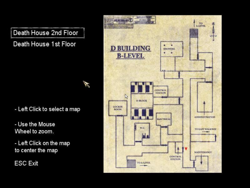 Large Of Death House Map