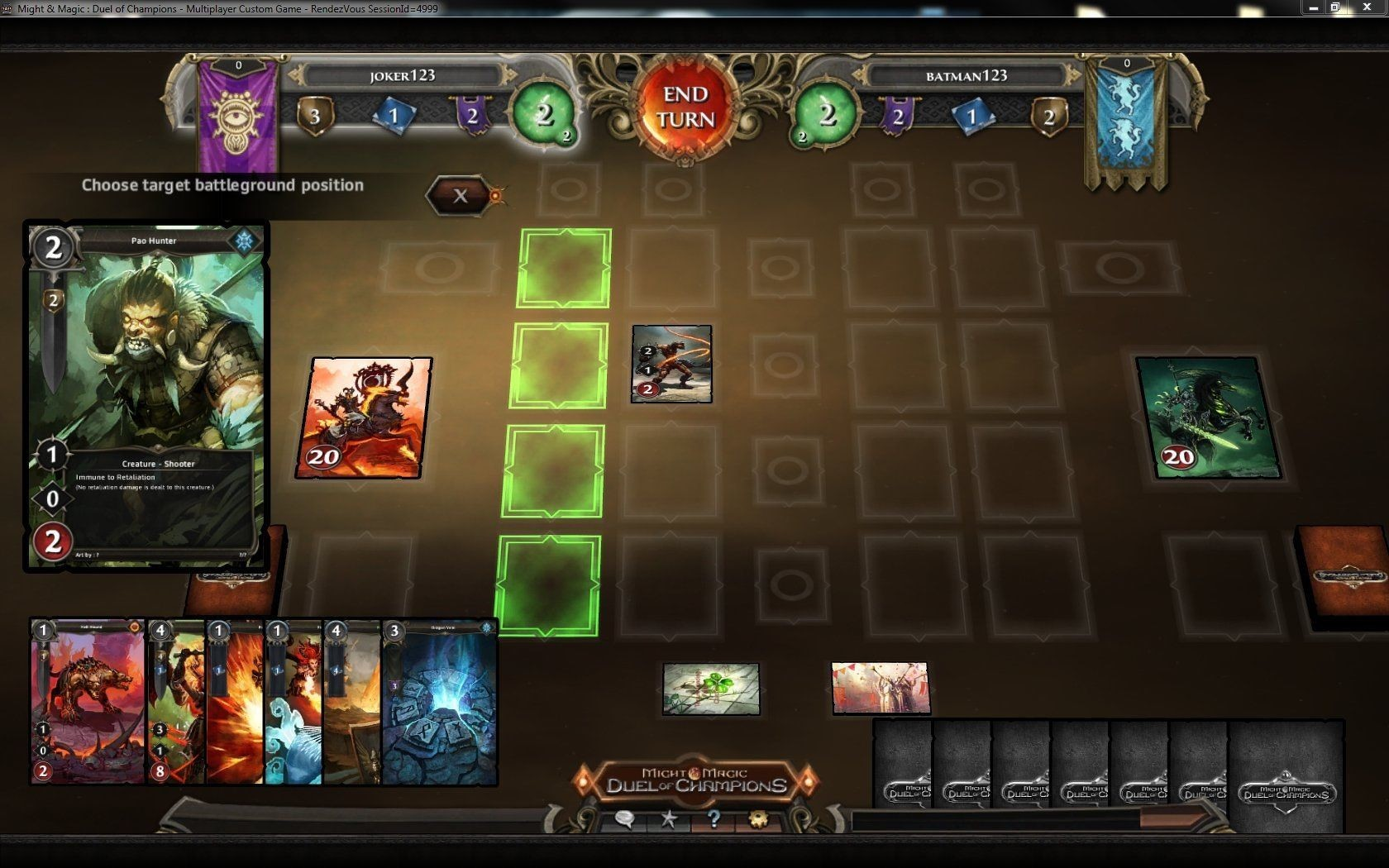 Online Card Games Might And Magic Duel Of Champions Pc Interview Gamewatcher
