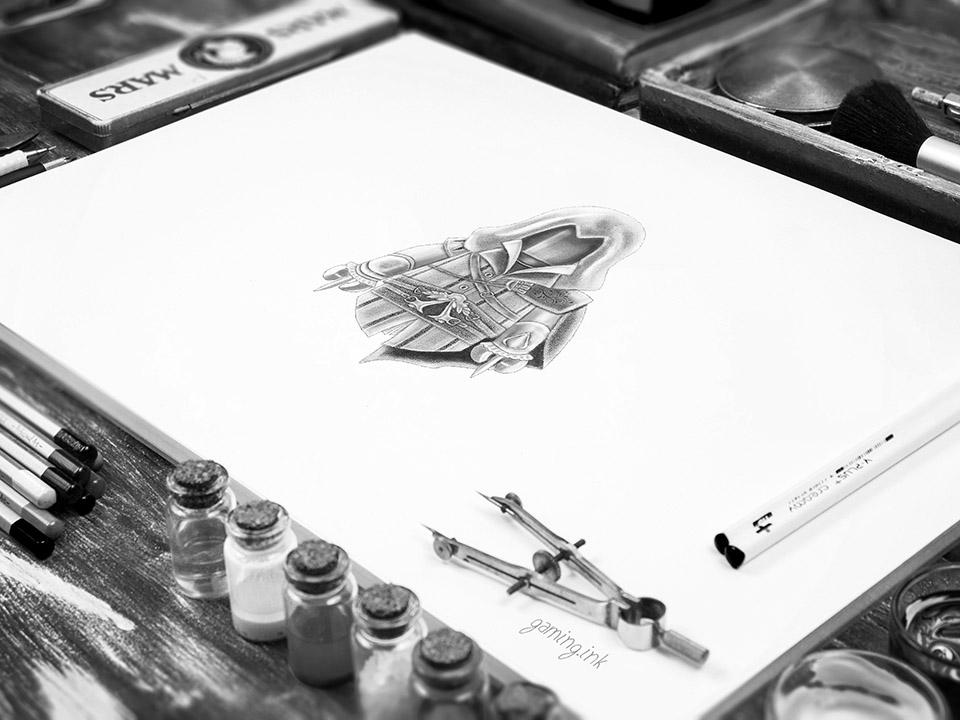 Assassin SketchBook 960