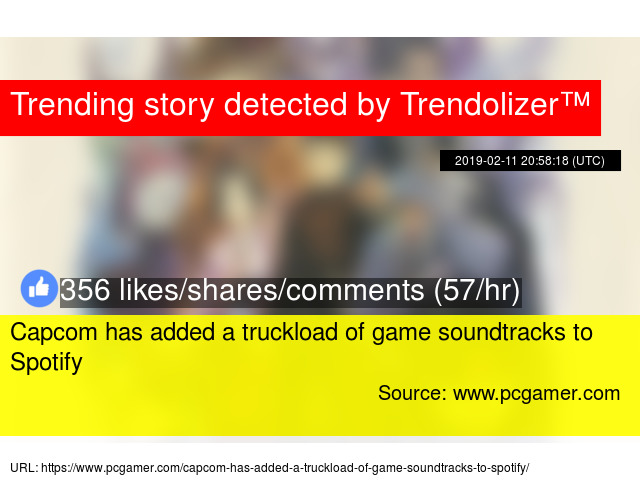 Capcom has added a truckload of game soundtracks to Spotify