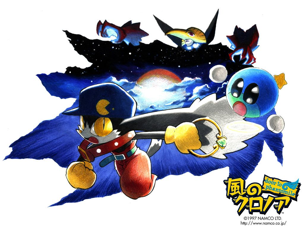 Psp Wallpaper Anime Klonoa Door To Phantomile Flapping Its Wing Eared Way To Psn