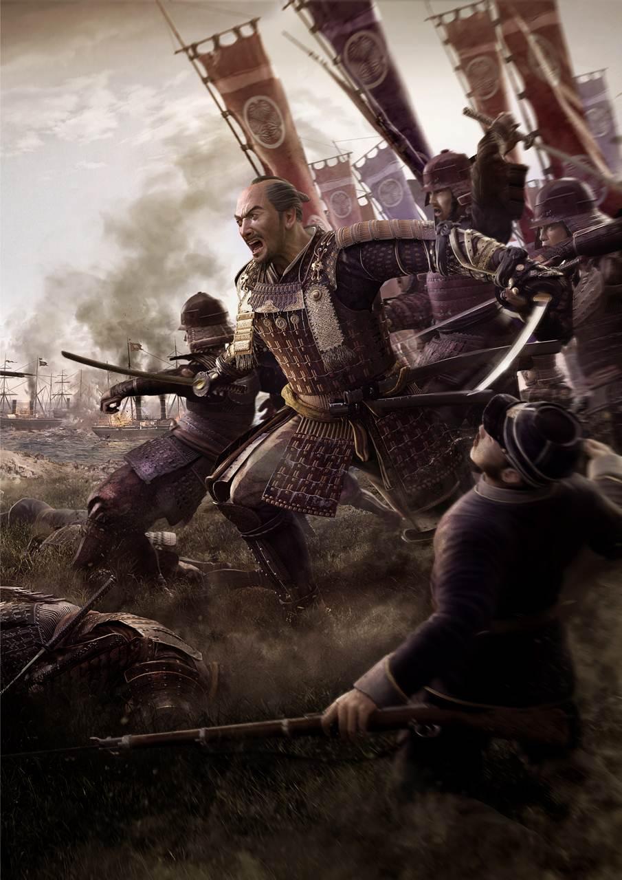 Wallpaper Art Falling Total War Shogun 2 The Samurai Might Be Falling But
