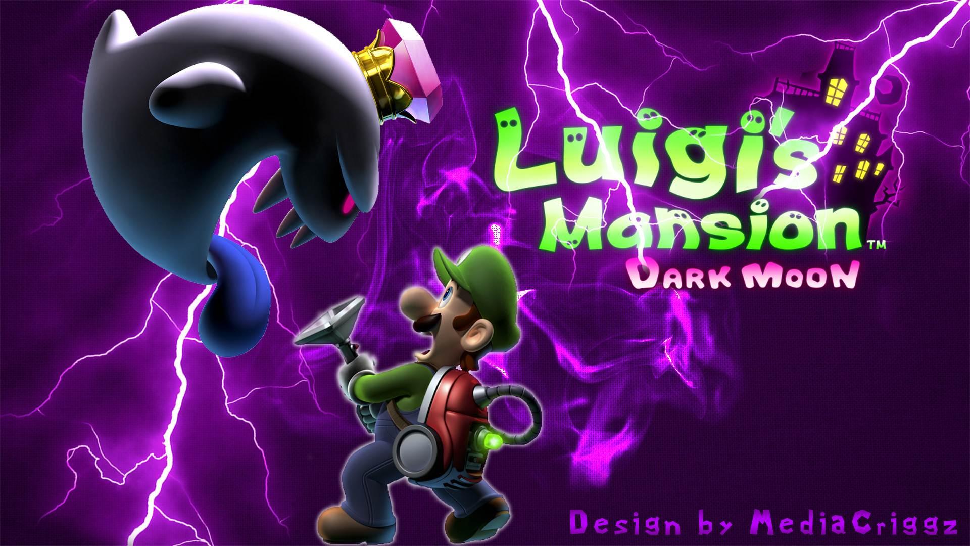 Dark Images Wallpaper Hd Luigis Mansion Dark Moon Wallpaper
