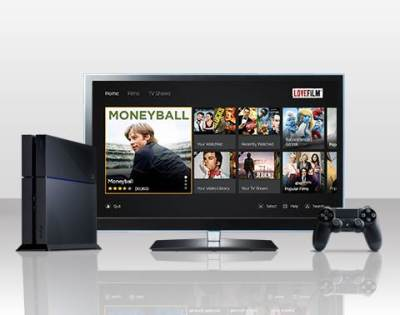 Lovefilm Launches Streaming App on PS4
