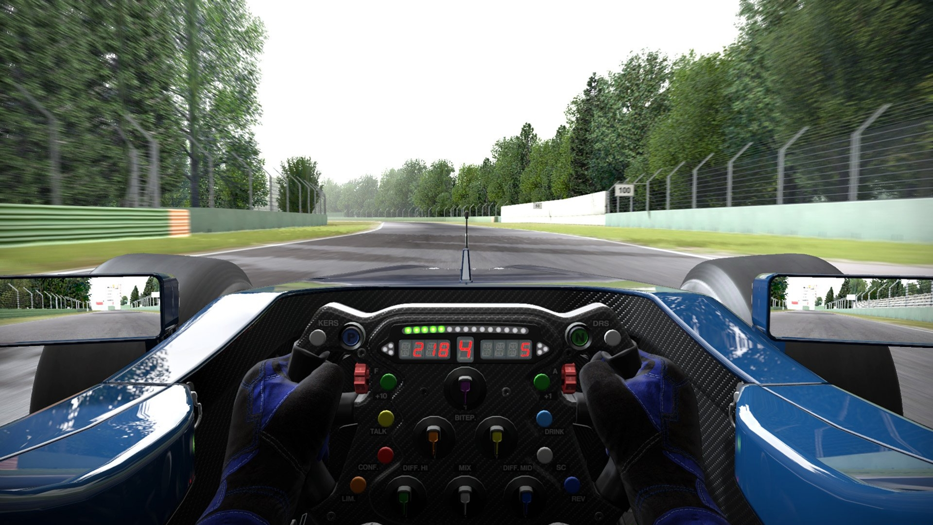 Formula 1 One Race Car Wallpaper Bright Project Cars In Game Ps4 Vs Pc Comparison Shows Hardly