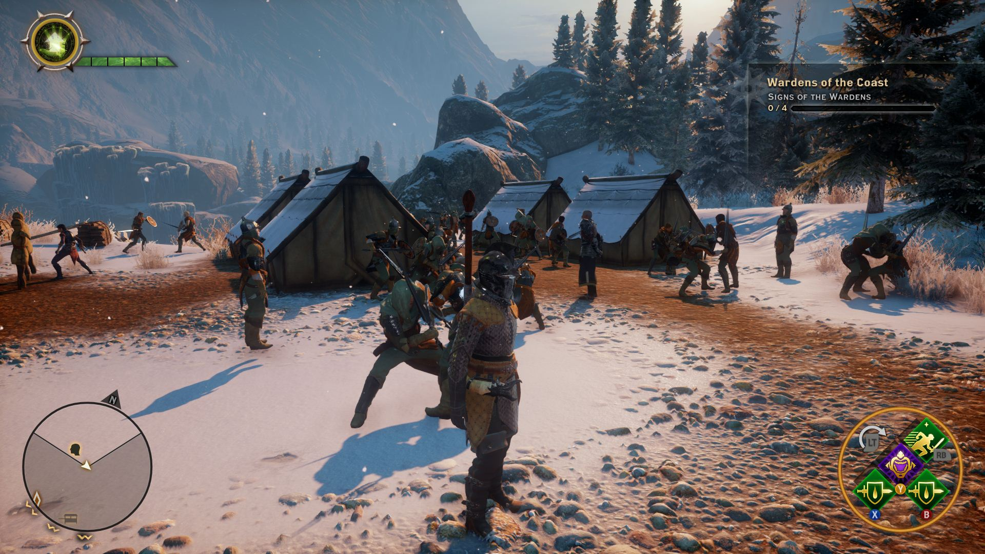 Skyrim Fall Wallpaper Hd Dragon Age Inquisition Review