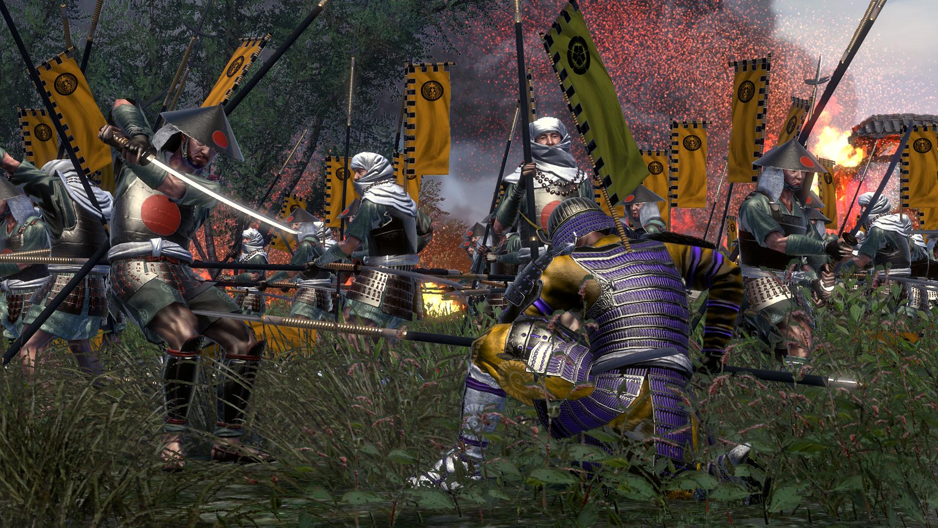 Shogun 2 Fall Of The Samurai Wallpaper Shogun 2 Ikko Ikki Clan Dlc Pack Released Gamingshogun