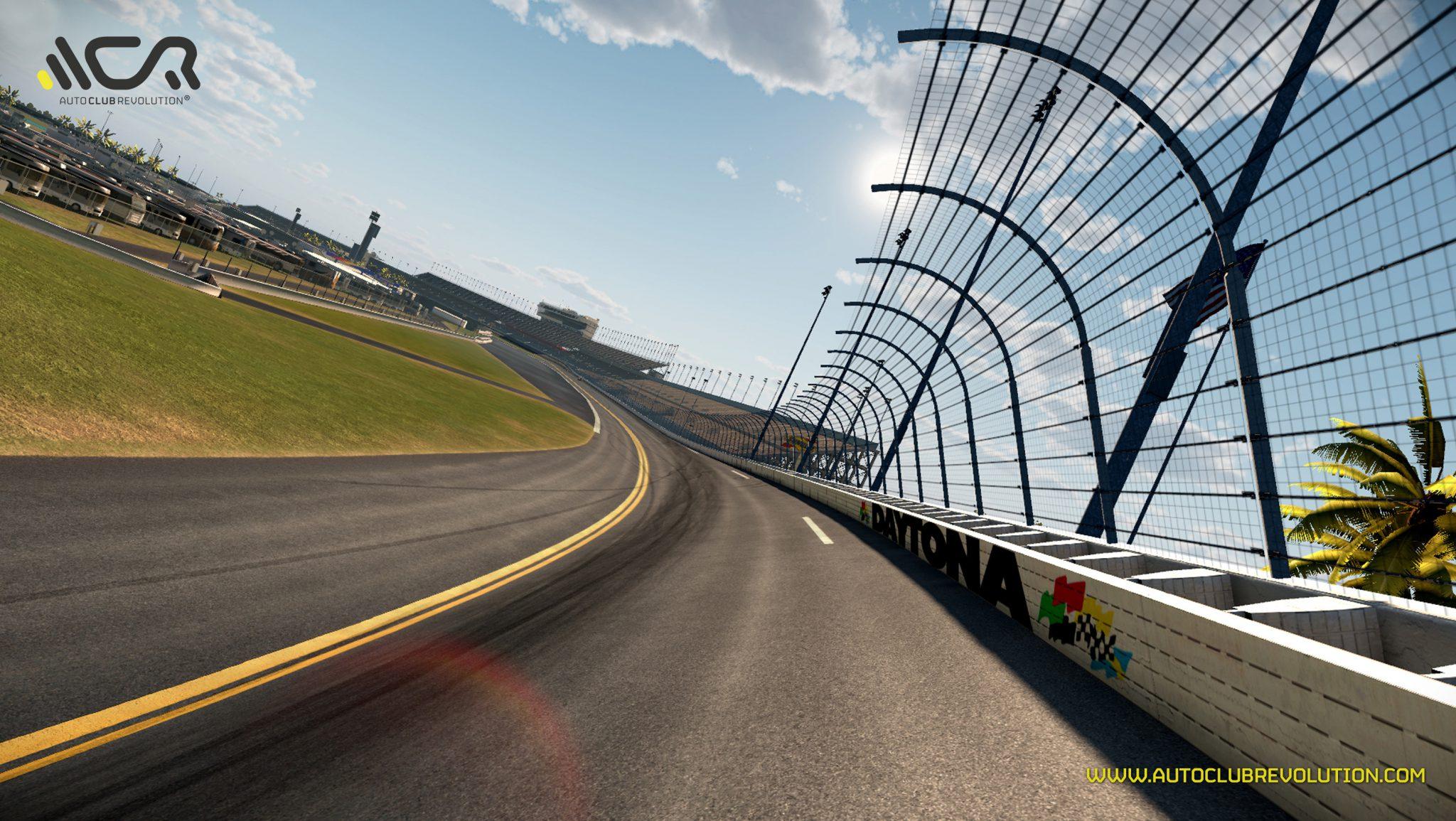 World Famous Car Wallpaper Daytona Intl Speedway Added To Auto Club Revolution