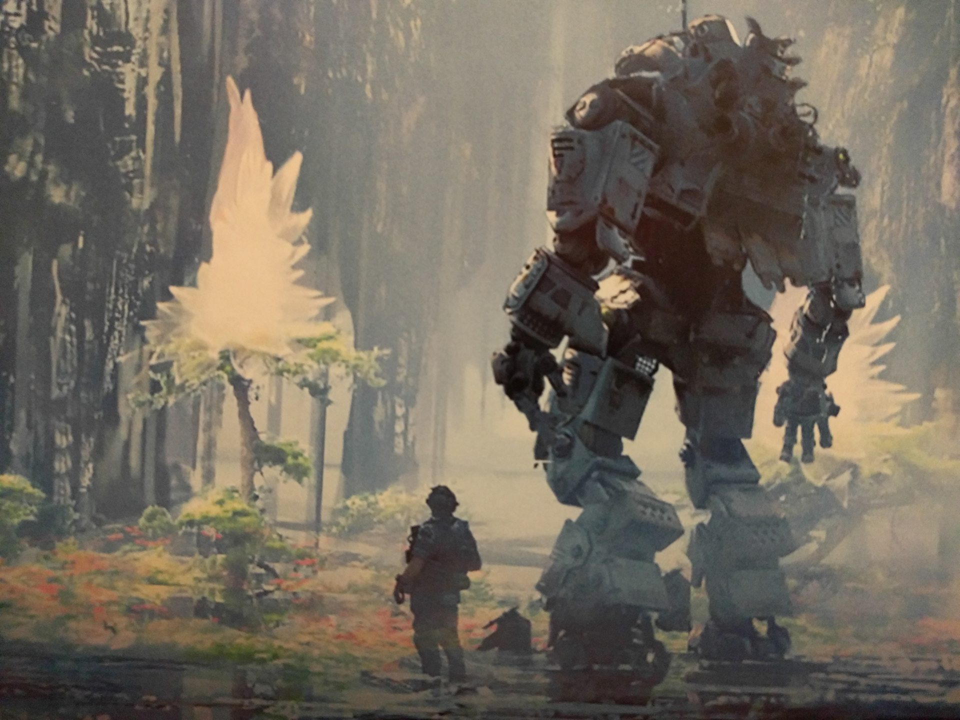 Epic Titan Fall Wallpaper Bt Stands For Best Titan The Art Of Titanfall 2 Review