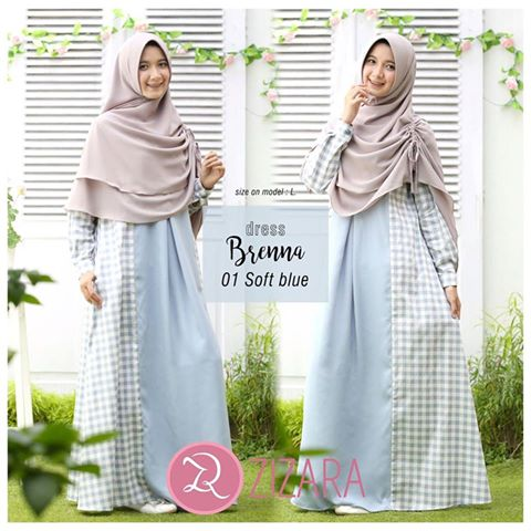Gamis Zizara Brenna Dress 01
