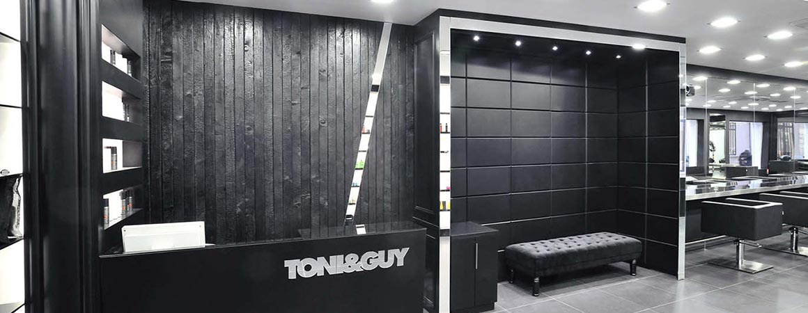 Agencement Du Salon De Coiffure Toni Guy à Bastille