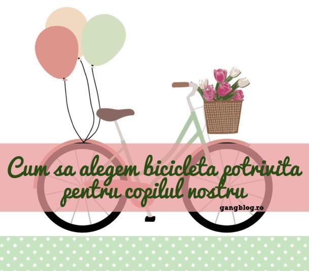 cum alegem bicicleta