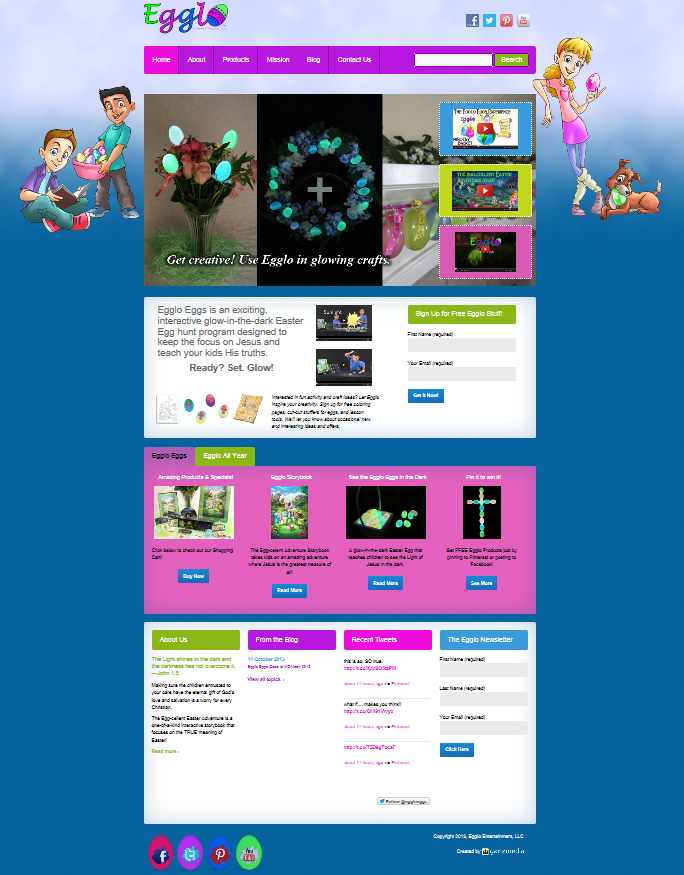 Los Angeles Website Design, Graphic Design,  Websites, LA GANZ Media - interactive website template