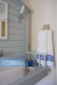 GAP Interiors - Nautical themed bathroom sink - Image No ...