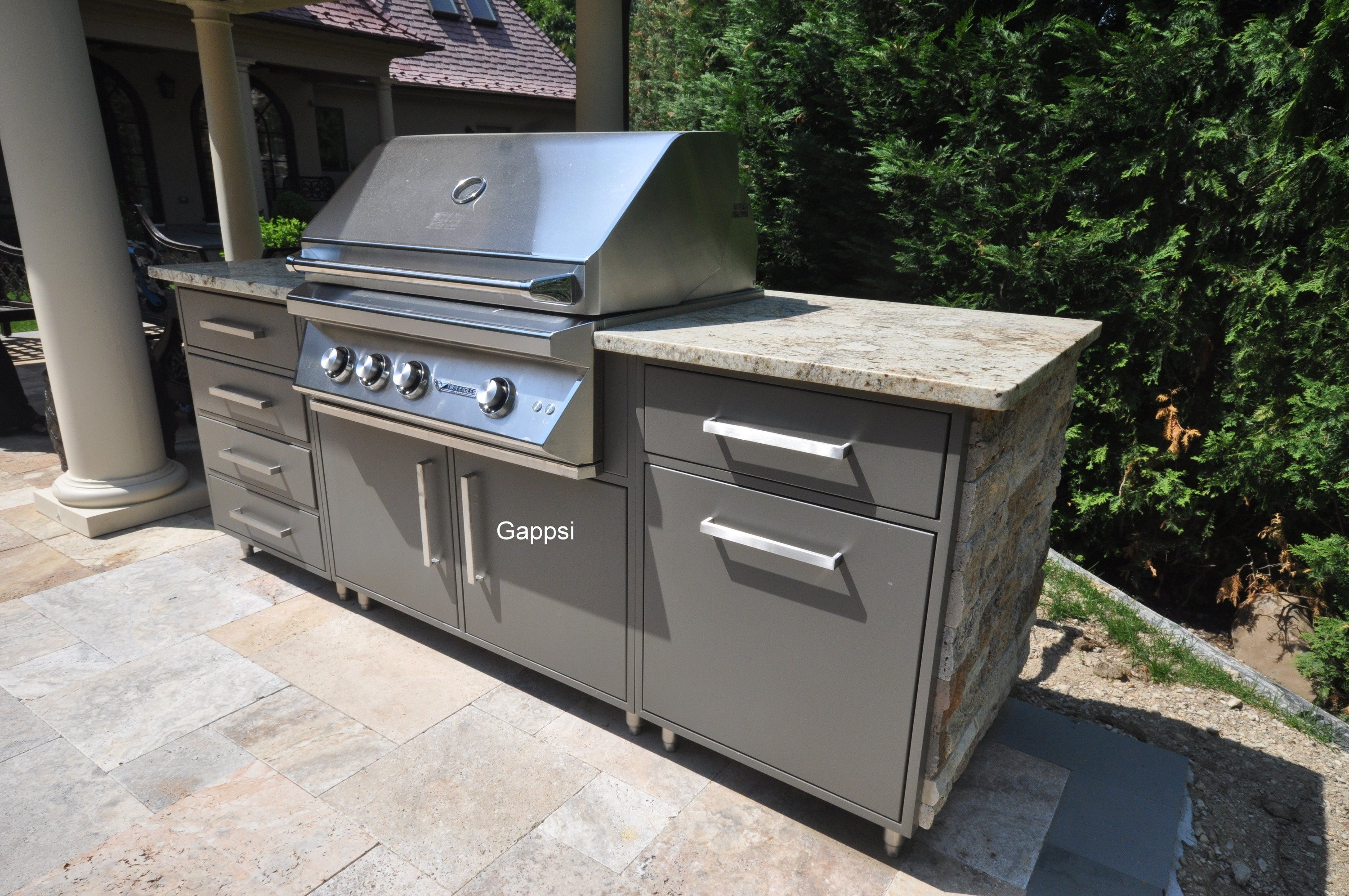 Outdoor Stainless Steel Cabinets Wolf Outdoor Cabinets Stainless Steel And Outdoor Rated