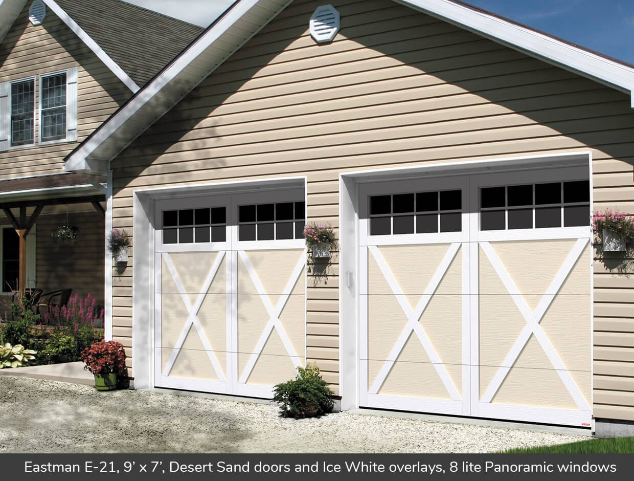 9x7 Garage Door Eastman E 21 Design From Garaga Garage Doors