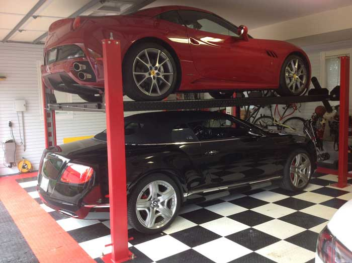 Car Lifts For Home Garages By Garage Designs Serving St