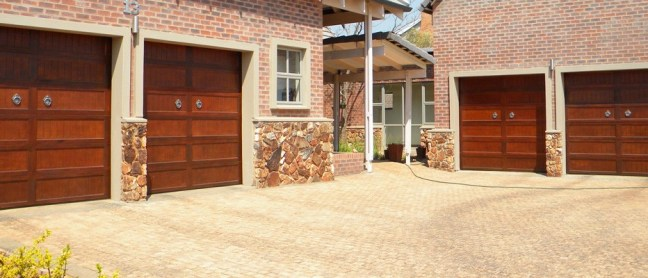 Cape Cottage Wooden Garage Doors