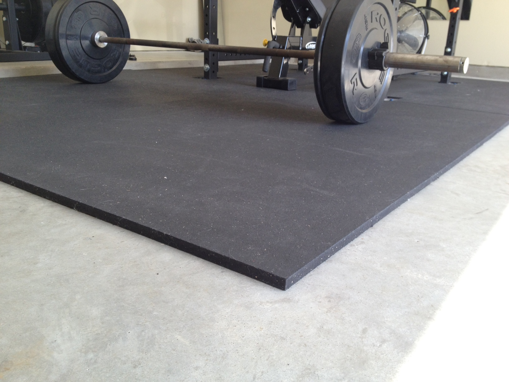 Garage Gym Reviews Diy Platform Garage Gym Flooring Protect Your Equipment And Foundation