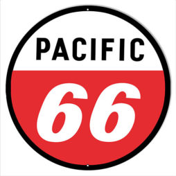 pacific 66 gas station sign