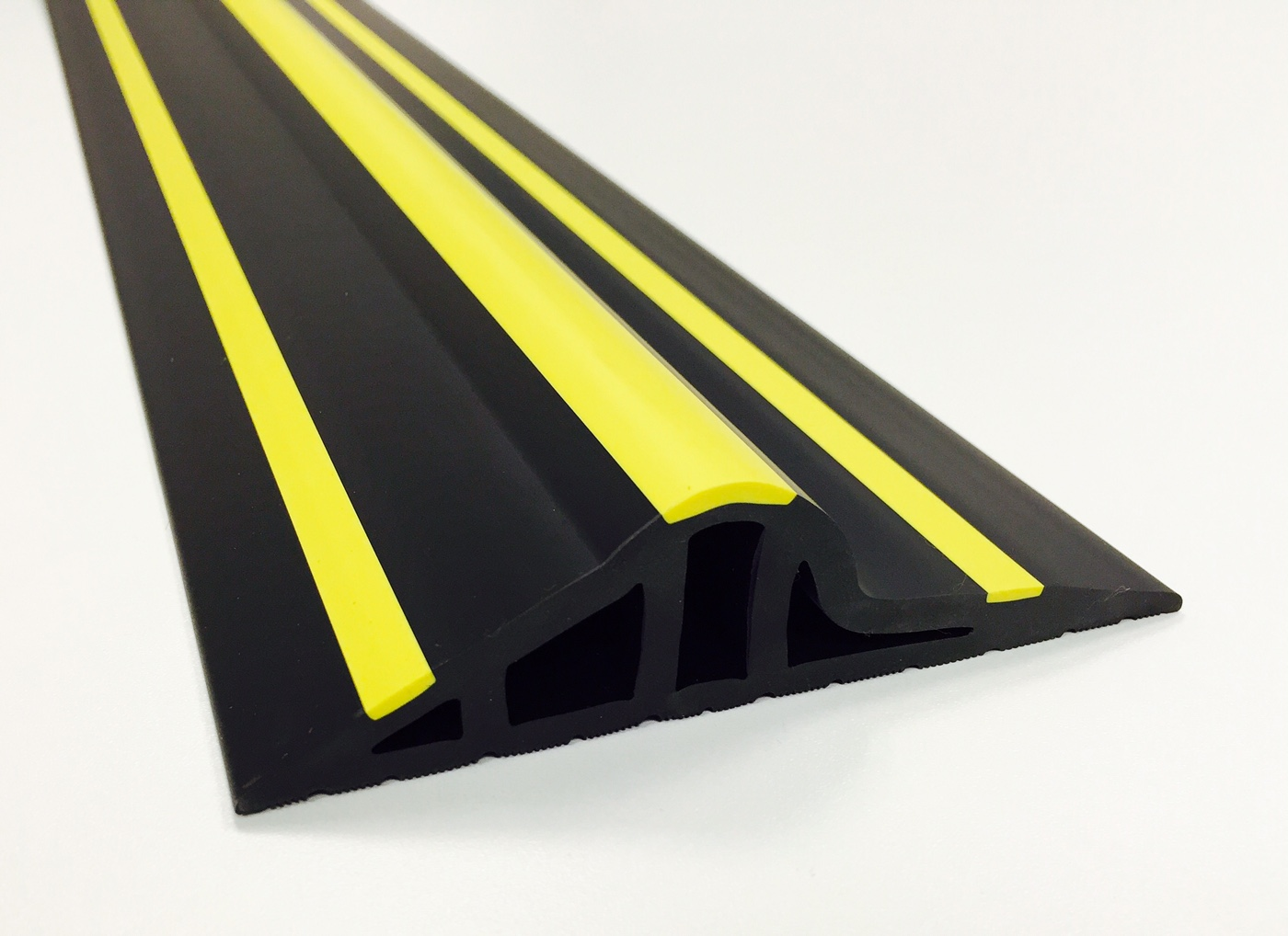 30mm Black Yellow Rubber Garage Threshold Seal Garage Door Seals