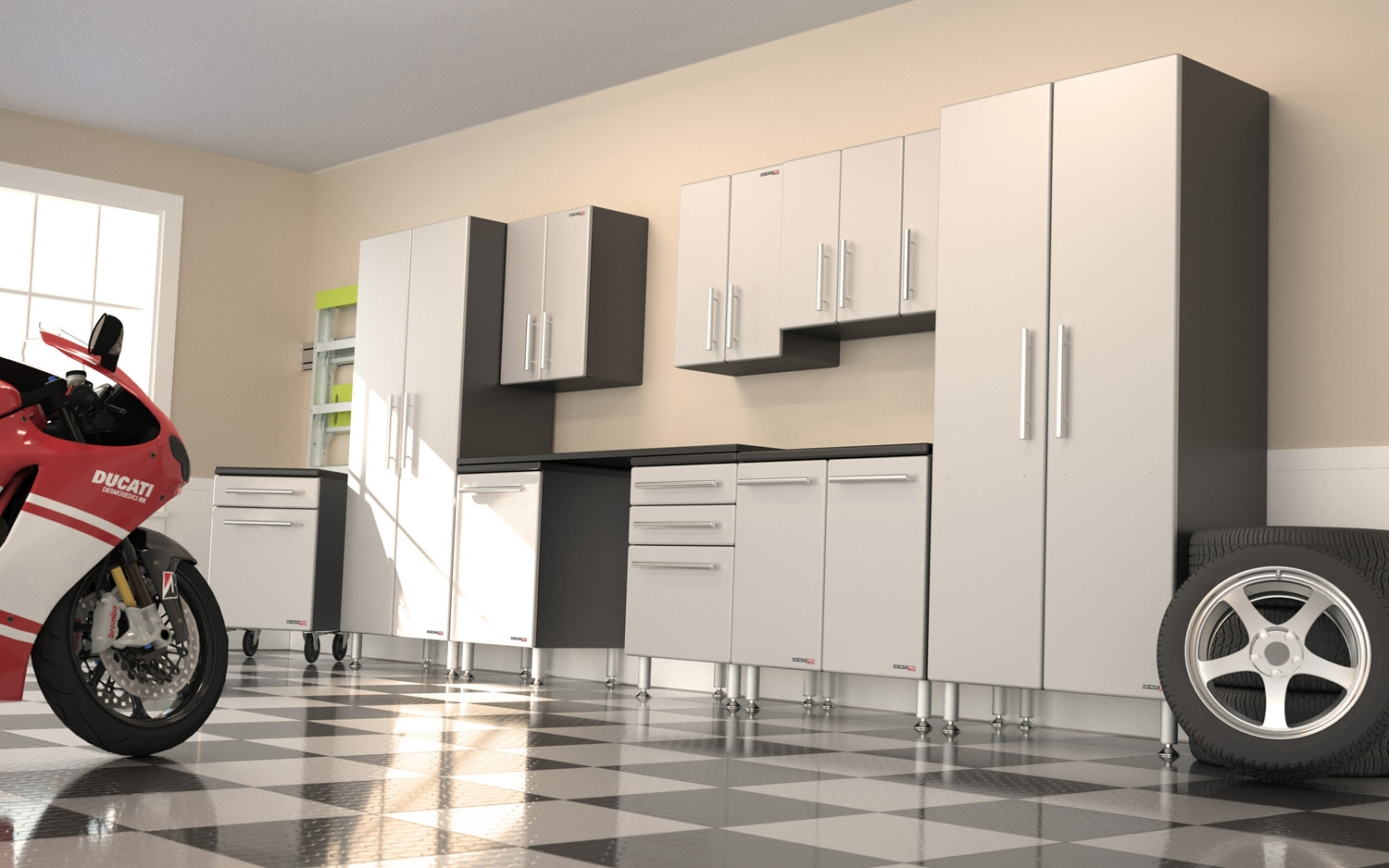 Discount Kitchen Cabinets San Diego Garage Organization Garage Cabinets By Garage Excell