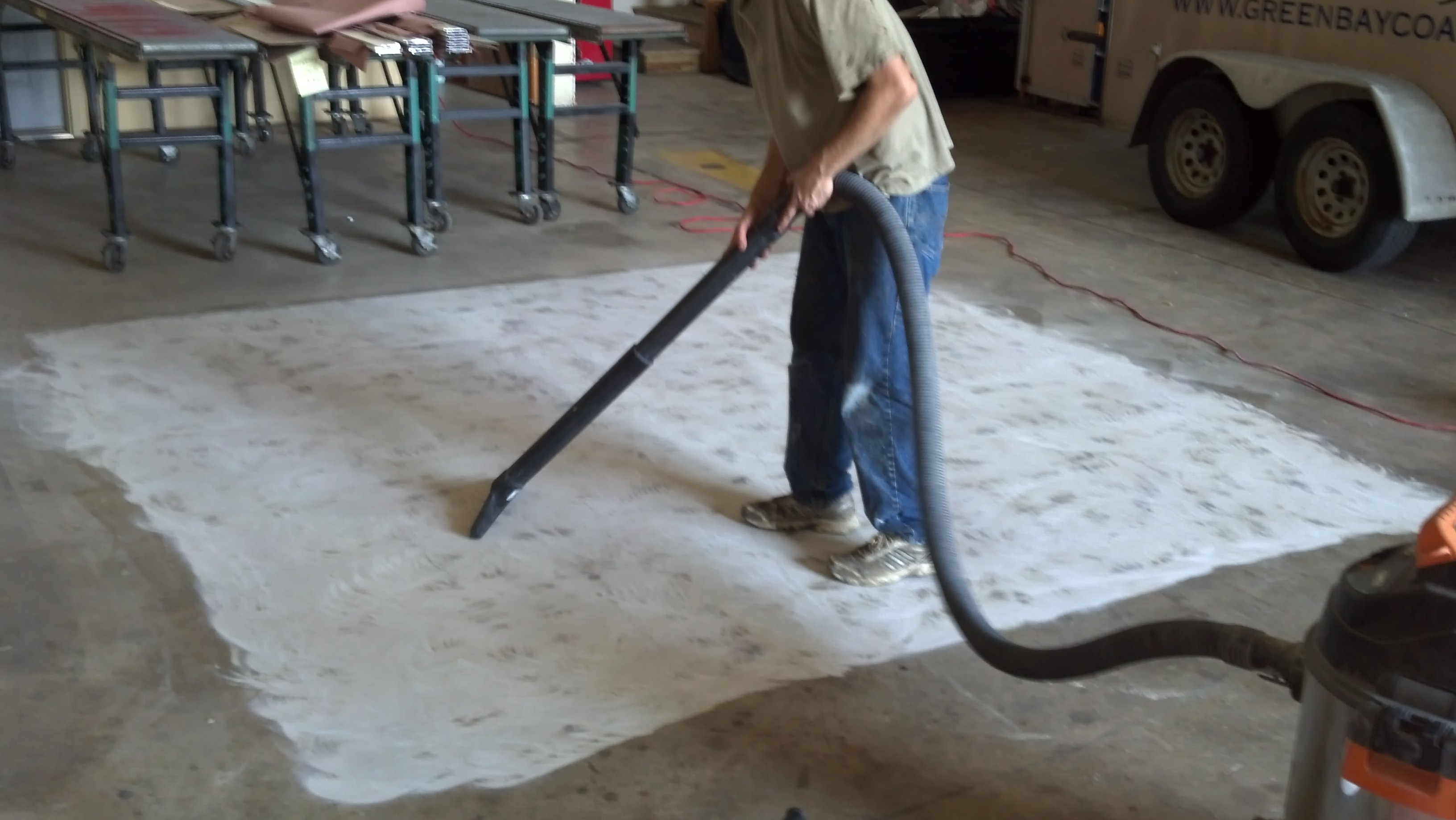 Garage Epoxy Cure Time Garage Floor Coating Instructions