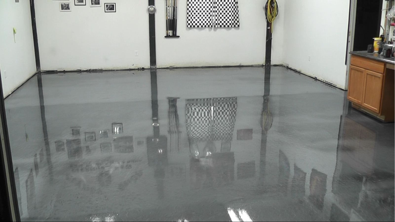 Garage Floor Epoxy Kit Reviews Clints Metallic Garage Floor Epoxy Project Garageflooringllc