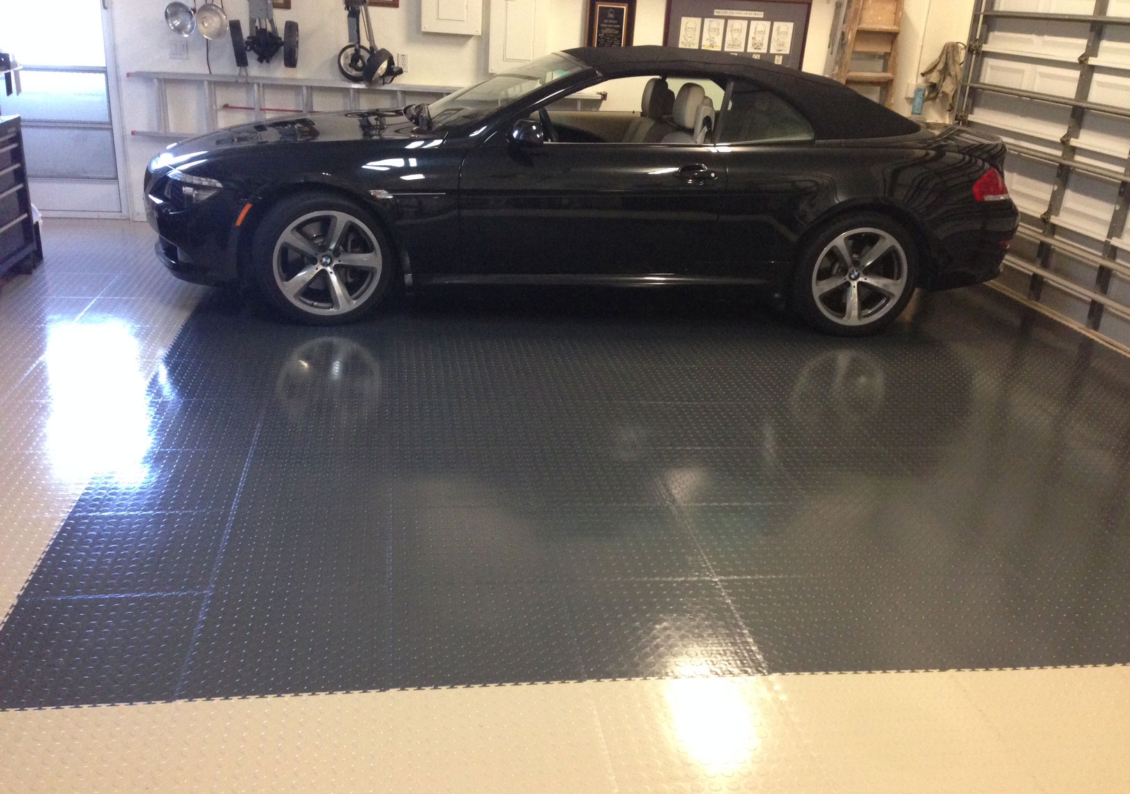 Garage Floor Epoxy Options Truelock Pvc Garage Floor Tiles Industrial Strength
