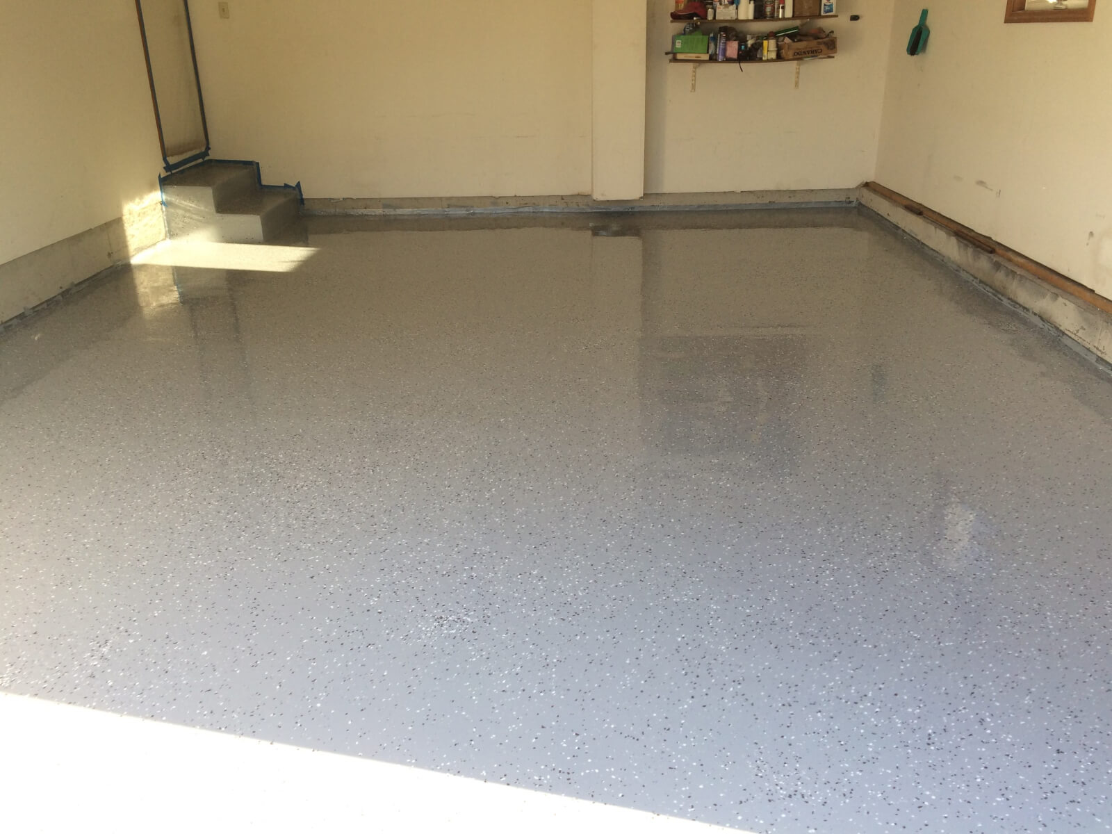 Garage Floor Epoxy Grand Junction Dave S High Solids Garage Floor Epoxy Coating Project