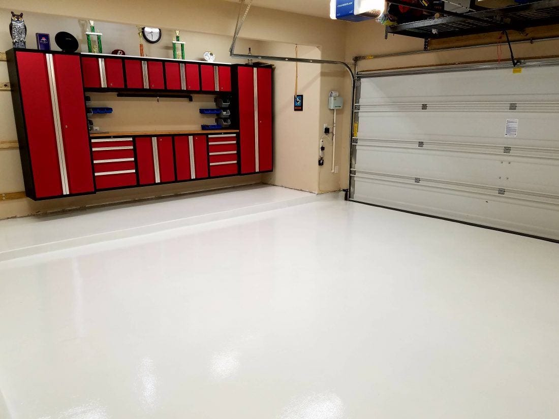 Garage Floor Epoxy Grand Junction White Garage Floor Coating Polyurea Garageflooringllc