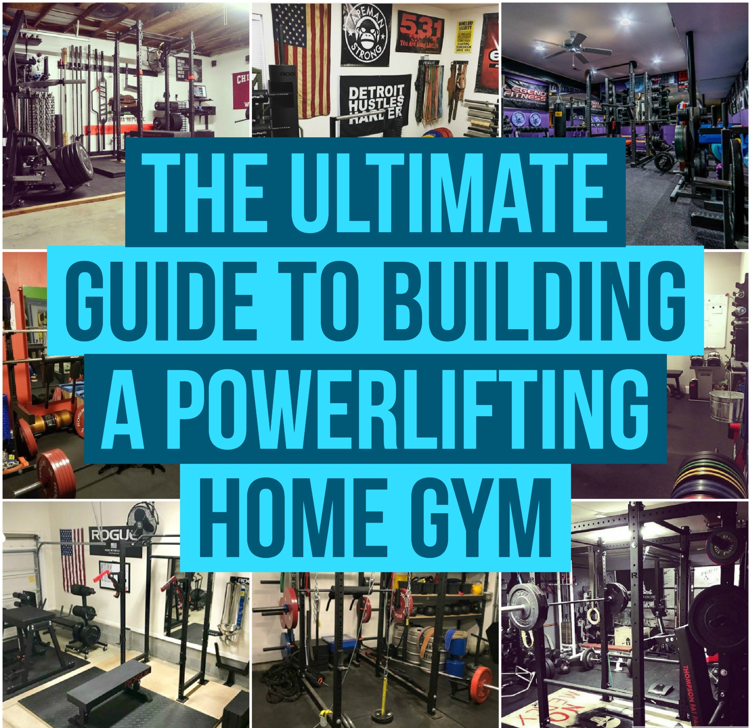Garage Gym Reviews Diy Platform The Ultimate Guide To Building A Powerlifting Gym At Home