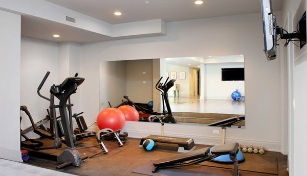Garage gym mirrors inspirational interior style concepts for