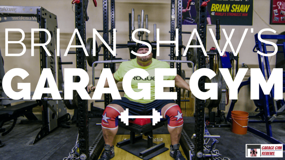 Garage Gym Reviews Titan World S Strongest Man Brian Shaw S Garage Gym