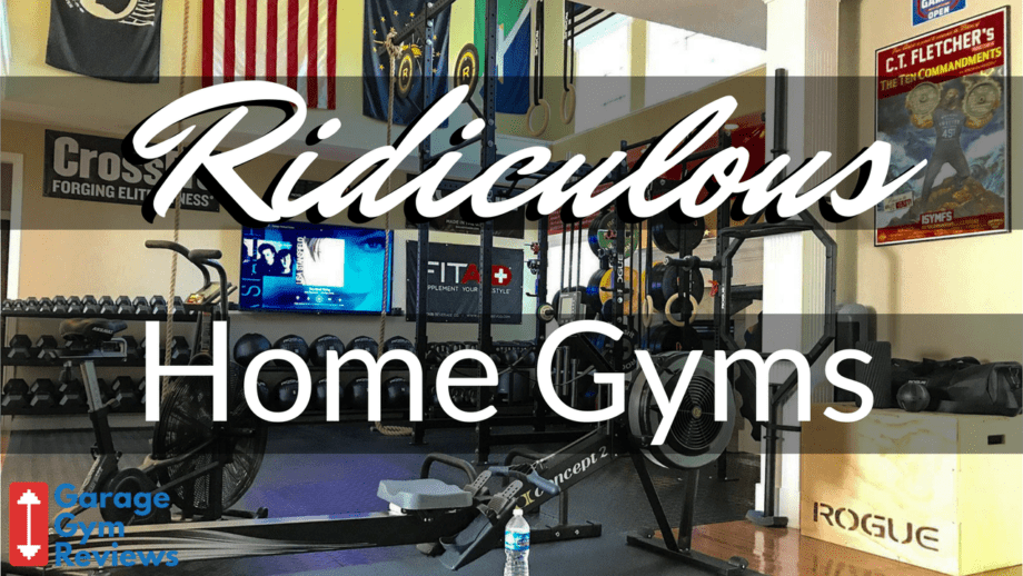 Garage Gym Warrior 10 Ridiculous Home Gym Setups