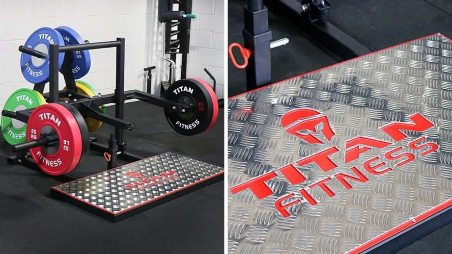 Garage Gym Reviews Titan Titan Fitness Belt Squat Machine Released