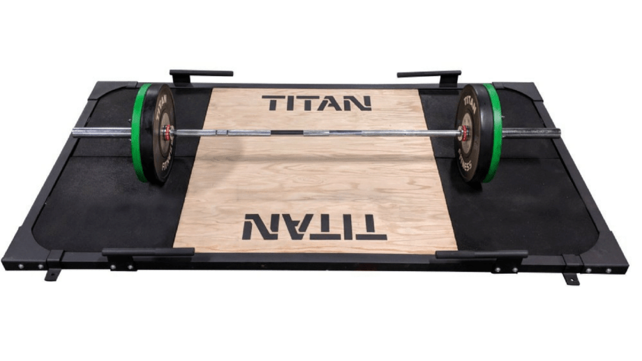 Garage Gym Reviews Titan Titan Fitness Deadlift Platform Released