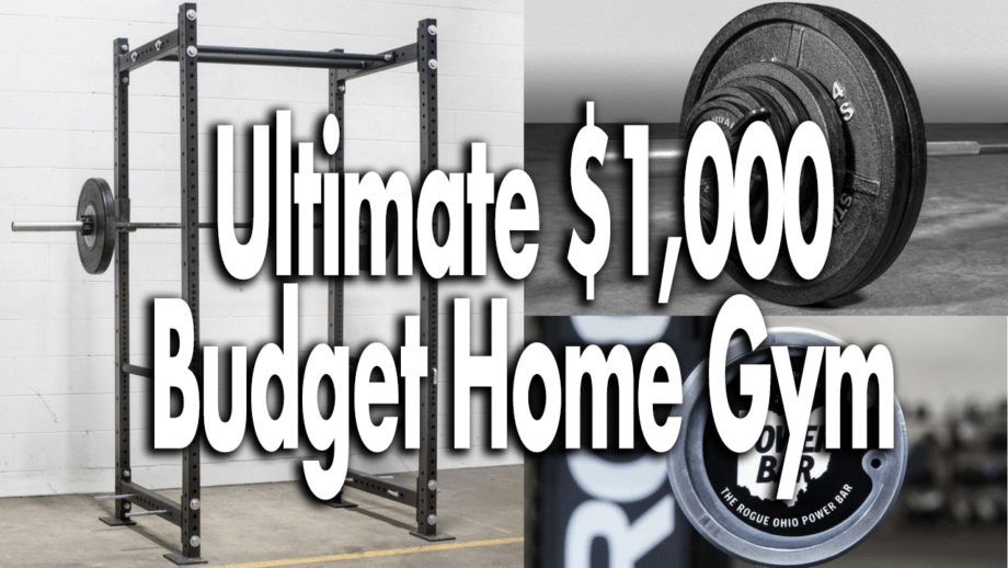 Garage Gym Reviews Titan The Ultimate 1 000 Budget Home Gym