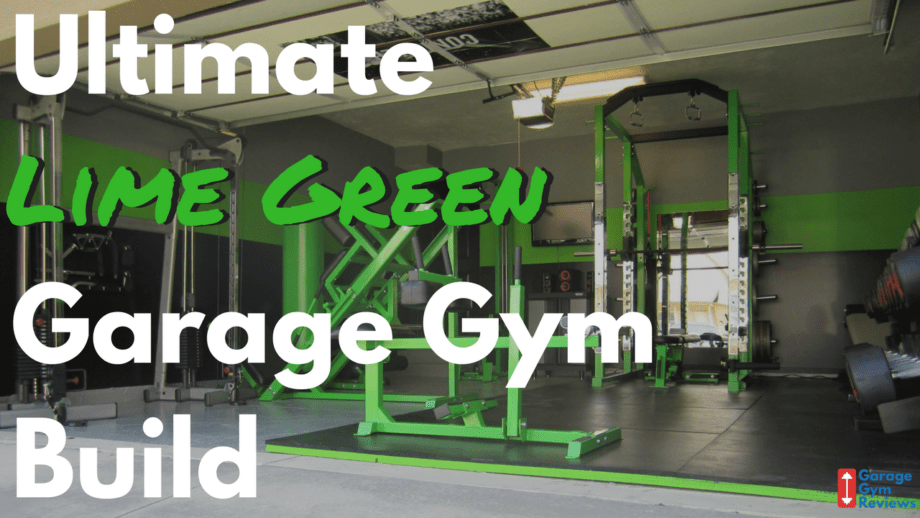 Garage Gym Reviews Titan The Ultimate Lime Green Garage Gym Build