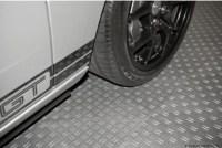 PP Bodenplatten der TEC-Serie in der Garage
