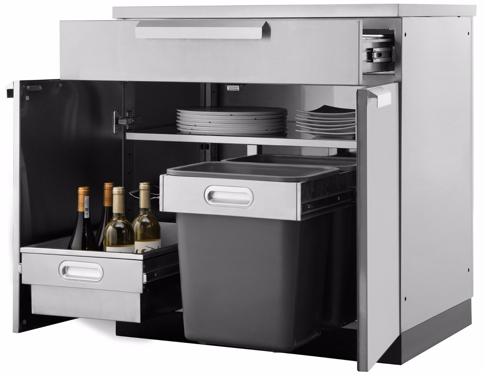 Outdoor Stainless Steel Cabinets Outdoor Kitchen Bbq Cabinets Stainless Steel Garagepride