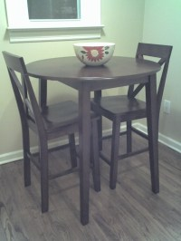 Kitchen Chairs: Tall Kitchen Table And Chairs