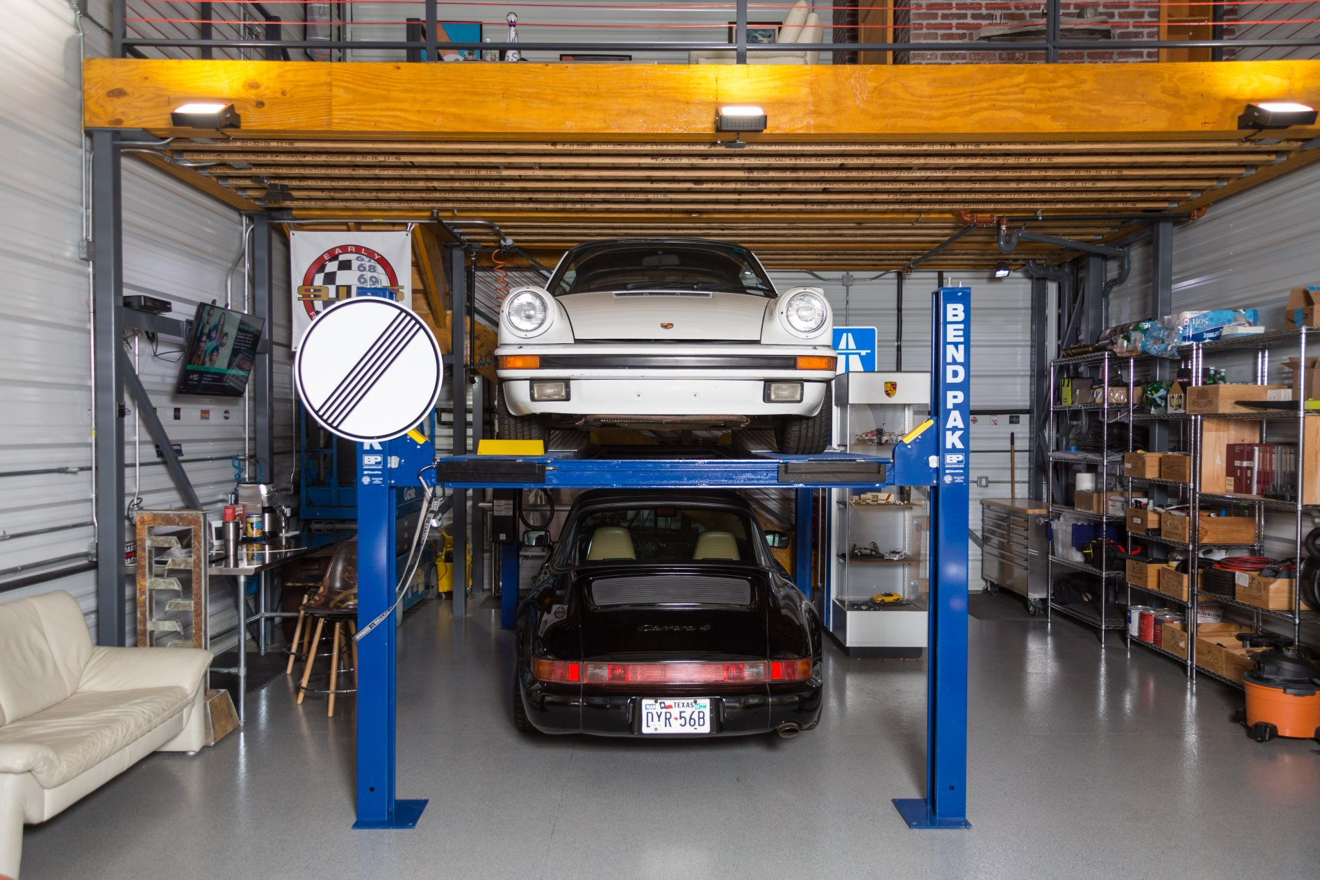 Garage Car Lift For Storage Garages Garages Of Texas