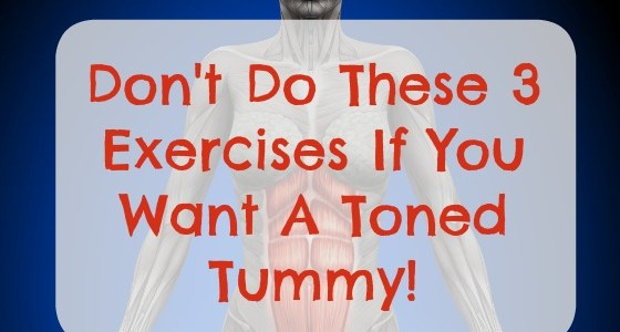 3 Worst Exercises Women Can DO If They Want A Flat Belly - Featured