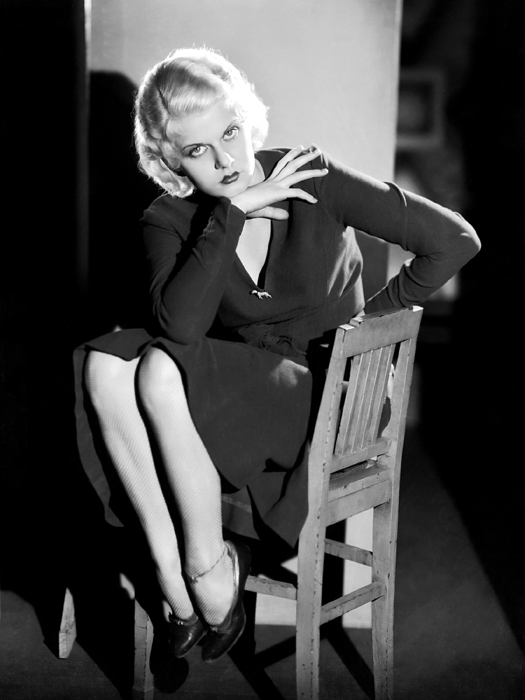 Black Frifay Friday Glam Spam: Jean Harlow | Garbo Laughs
