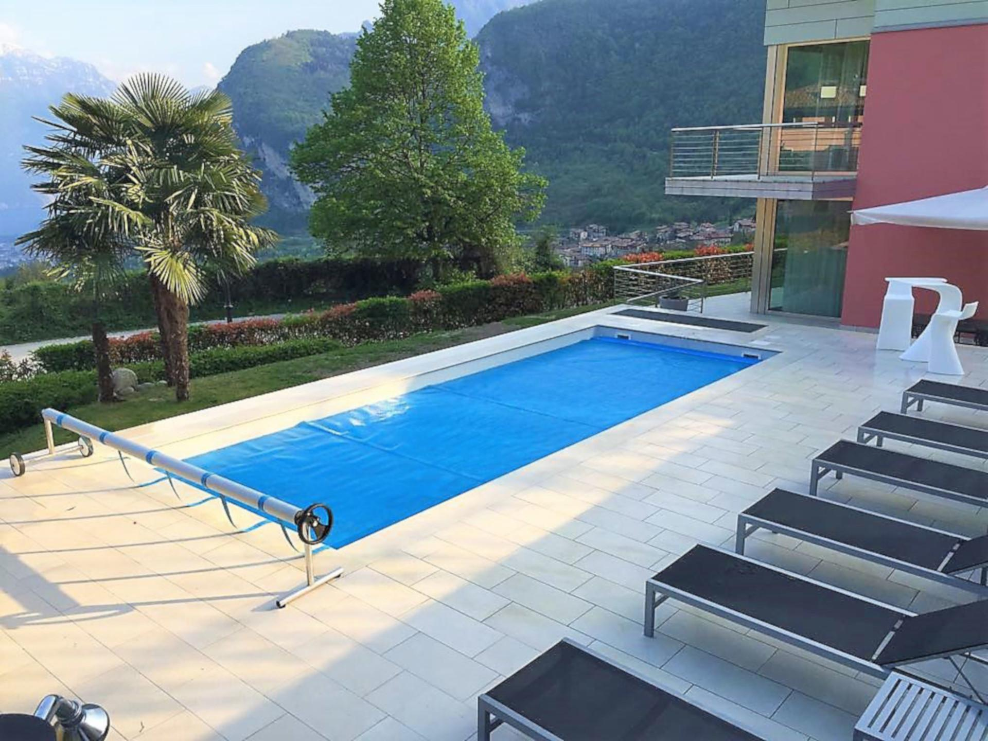 Ferienhaus Gardasee Mit Pool Privat Tenno Villa Bellavista At Lake Garda In Tenno Ville Del Monte
