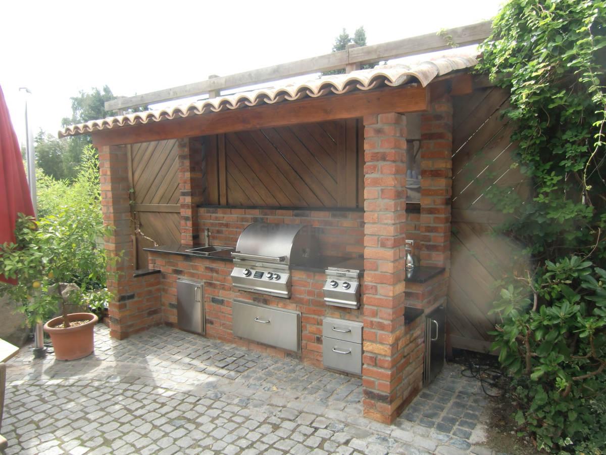 Outdoor Küche Design : Outdoor küche genehmigung design ideen von terrassenüberdachung